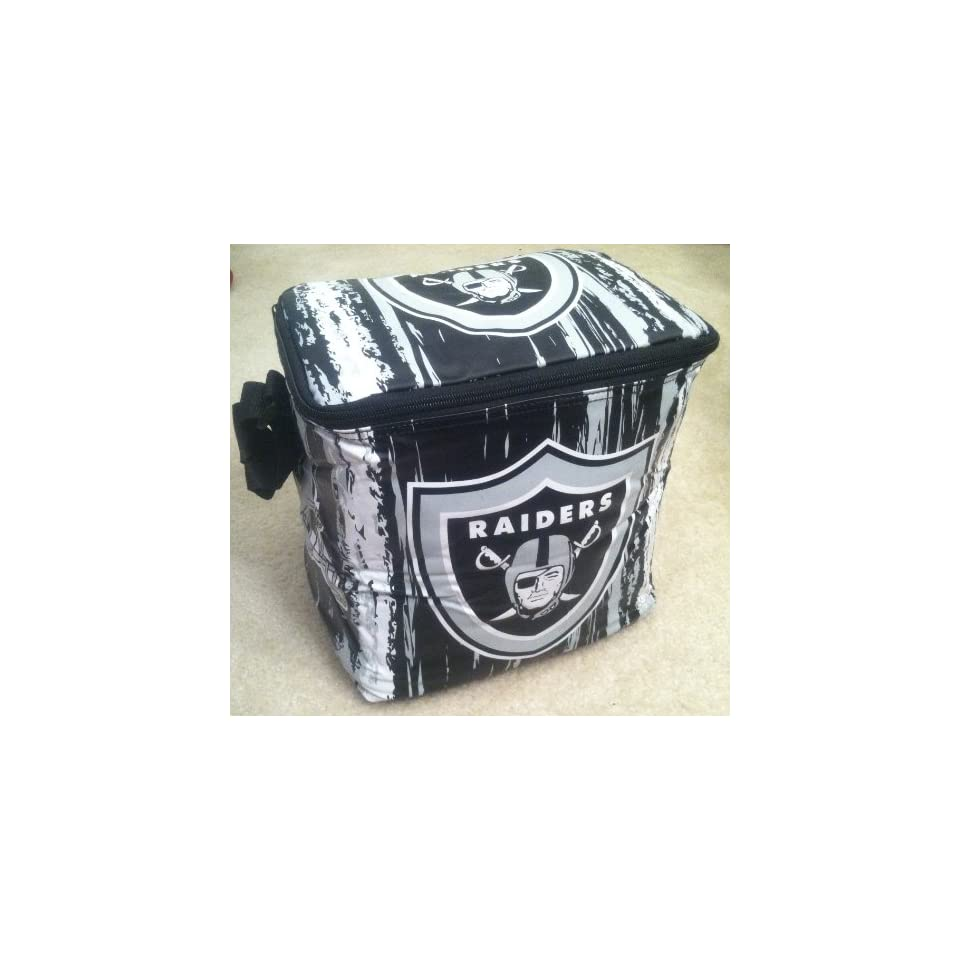 Oakland Raiders NFL 12 Pack Soft Sided Cooler Bag