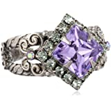 """Sorrelli """"Lavender Mint"""" Perfectly Pointed Ring"""