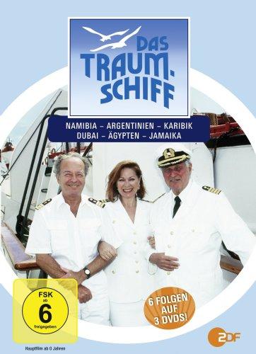 Das Traumschiff 5 (Ägypten / Dubai / Karibik / Argentinien / Jamaika / Namibia) [3 DVDs]