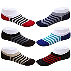 Blinkin Unisex Loafer Socks, Low Cut Foot Cover Socks, Ankle Socks (6 Pairs)