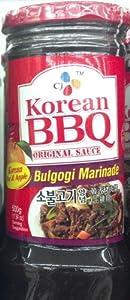 Amazon.com: CJ Korean BBQ Sauce Bulgogi Marinade 500g (4 Pack): Home ...