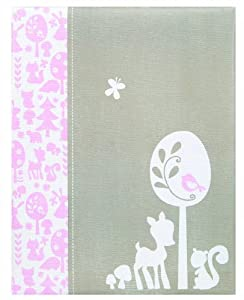 Pepperpot Woodland Baby Girl Record Book