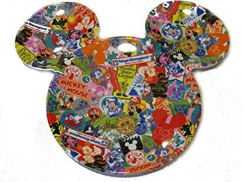 ディズニーリゾート限定 ミッキーシェイププレート 30周年 ハピネスイヤーデザイン イベントヒストリー