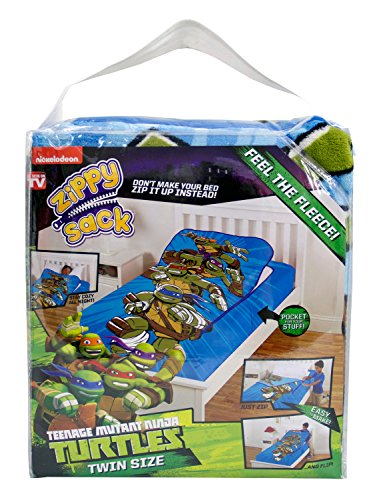 Read About ZippySack - Teenage Mutant Ninja Turtles (Twin Size)