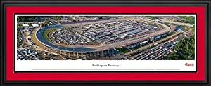 NASCAR Tracks - Darlington Raceway Aerial - Framed Poster Print by Laminated Visuals
