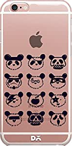 DailyObjects Pop Panda Clear Case For iPhone 6S Plus