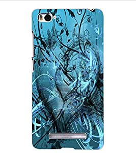 ColourCraft Beautiful Heart Design Back Case Cover for XIAOMI MI 4I