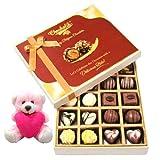 Valentine Chocholik Premium Gifts - Beautiful Chocolates With Teddy