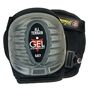 Tommyco+Kneepads+Inc Tommyco GEL507 Injected GEL Knee Pads With Snap On/Off All Terrain Cover
