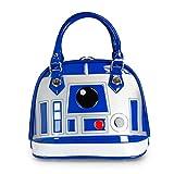 Loungefly【ラウンジフライ STTB0003 Star Wars スターウォーズ R2-D2 ドーム型 ミニバッグ 青/銀/白】【並行輸入品】