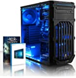 VIBOX Ultra 11 - 3.8GHz Quad Core, Family, Desktop Gaming PC, Computer with Windows 10, WarThunder Game Bundle and Neon LED Internal Lighting Kit PLUS a Lifetime Warranty Included* (New 3.1GHz (3.8GHz Turbo) AMD A8 Fast 4 Core APU Processor, Powerful Radeon HDIntegrated Graphics Chip, 1TB HDD Hard Drive, 8GB 1600MHz RAM Memory, 85+ 500W PSU, DVD-RW)