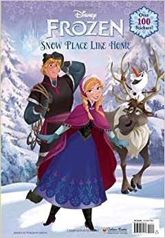 SNOW PLACE LIKE HOME (Disney Frozen) (Giant Coloring Book): RH Disney