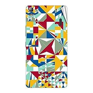 Garmor Designer Mobile Skin Sticker For Lenovo A780 - Mobile Sticker