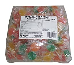 Seneca Truly Fruit Pectin Jellies 5 Lb Bulk Value Bag