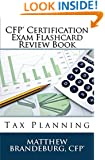 CFP Certification Exam Flashcard Review Book: Tax Planning (4th Edition)