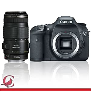Canon EOS 7D SLR Digital Camera with Canon EF 70-300mm f/4-5.6 IS USM Lens
