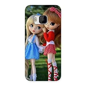 Ajay Enterprises Sister Doll Multicolr Back Case Cover for HTC One M9