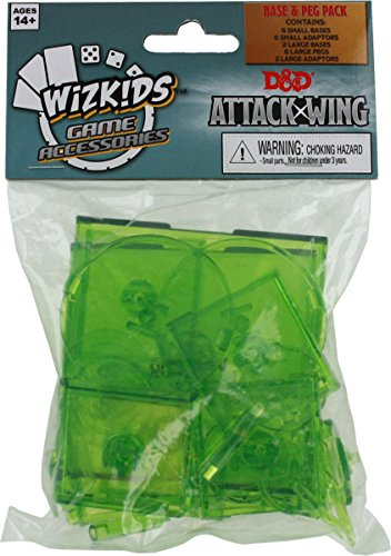 Attack Wing: Dungeons and Dragons Base and Peg - Green - 1