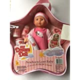 "My Dream Doll 8"" Newborn Baby With Accessories And Carrying Case"