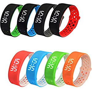 Kingko® Smart Watch Wrist Sports Fitness Tracker Pedometer Waterproof Bracelet from Kingko