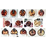 【 国分 k&k 缶づめ 】 缶つま お肉 14缶セット 【 牛すじ こんにゃく ・ 牛肉 の バルサミコソース ・ 群馬県産 氷室豚 グリル ・ おつまみ チャーシュー など 】