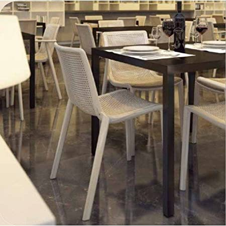 Table empilable Barcino mho1032036 90x90 cm noir