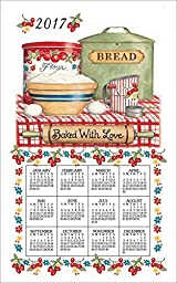 Baked with Love Calendar Towel