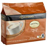 Twinings Chai Tea Latte  8 Servings  16 Count T Discs for Tassimo Coffeemakers  Pack o