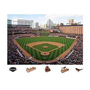 MLB Baltimore Orioles Inside Oriole Park at Camden Yards Mural Wall Graphic by Fathead