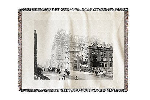 waldorf-astoria-hotel-new-york-ny-photo-60x80-woven-chenille-yarn-blanket