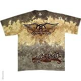 Aerosmith - Ray Logo Tie Dye T-Shirt - X-Large
