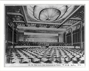 Historic Print (L): [Theater designed by Henry van de Velde in Cologne, Germany: interior, from stage]