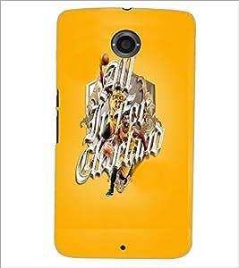PrintDhaba Sports D-5940 Back Case Cover for MOTOROLA GOOGLE NEXUS 6 (Multi-Coloured)