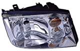 Depo 341-1106R-ASF-Y Volkswagen Jetta Passenger Side Replacement Headlight Assembly