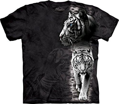 White Tiger Stripe Bambino Medium Animals Mountain Shirt