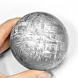 隕石 ナミビア産 メテオライト ギベオン 鉄隕石 丸玉 約72mm 1点 [ジュエリー]