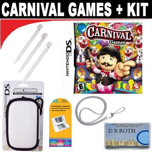 Carnival Games (Nintendo DS) + Deluxe Accessory Kit