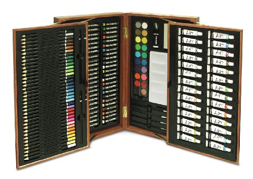 Art 101 174-Piece Wood Art Set