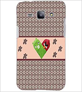 PrintDhaba Heart D-3214 Back Case Cover for SAMSUNG GALAXY J1 (Multi-Coloured)