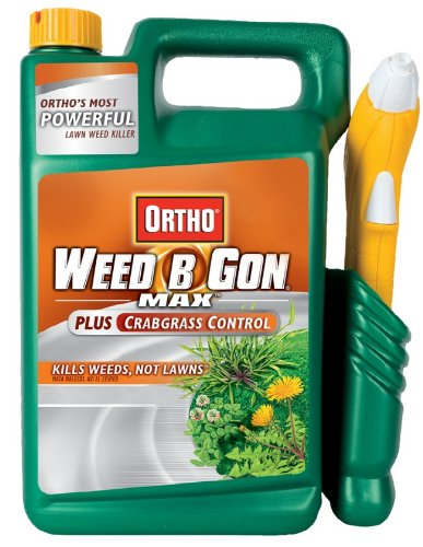 Ortho 0424010 1.33-Gallon Weed-B-Gon Max Plus Crabgrass Control Pull 'N Spray