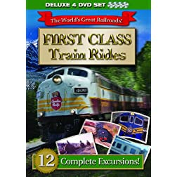 First Class Train Rides 4 DVD Set