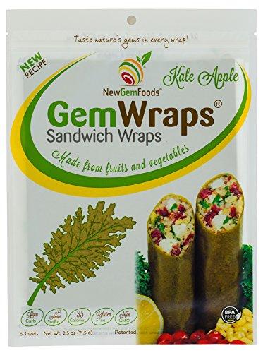 New Gem Foods Carrot Wraps