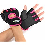 Hot Sport Cycling Fitness GYM Weightlifting Exercise Gloves Half Finger WHF107