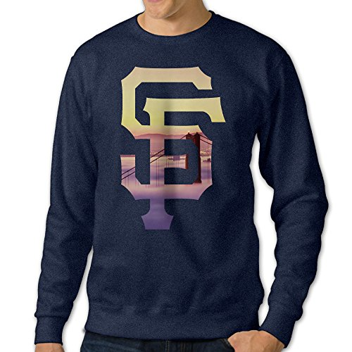 [BestGifts Men's San Francisco Logo Giants Crew Neck Hooded Sweatshirt Navy Size S] (Flamenco Costumes San Francisco)