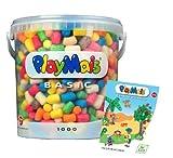 Loick Biowertstoff 160228 - PlayMais Basic 1000 mit Buch Inspiration von Loick Biowertstoff