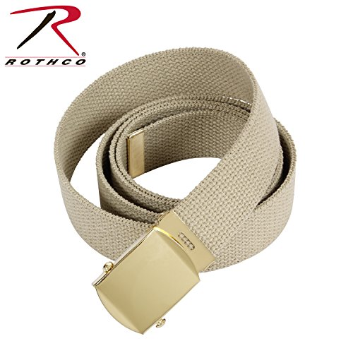 Rothco Military Web Belts, Gov Khaki, 64'' (Direct Gov compare prices)
