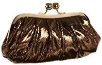La Regale 25435 Clutch,Bronze,one size
