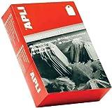 Agipa Bijouterie Boîte de 1000 étiquettes Format 15 x 24 mm