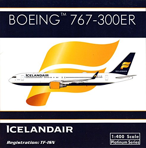 PHX1523 1:400 Phoenix Model Iceland Air Boeing 767-300ER REG #TF-ISN (pre-painted/pre-built) (Phoenix Models compare prices)