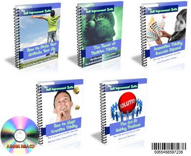 OVER 5 FIVE HELPFUL SELF IMPROVEMENT BOOKS ON ONE CD WITH FULL RE-SALE RIGHTS